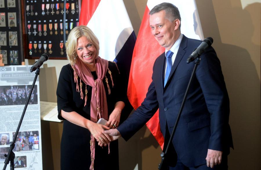 Jeanine Hennis-Plasschaert i Tomasz Siemoniak