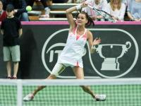 Fed Cup: Agnieszka Radwańska rozgromiona. Polska przegrywa ze Szwajcarią. ZDJĘCIA
