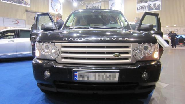Samochód BOR - range rover