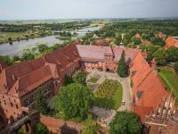 A może do Malborka? Krzyżacy zostawili tam piękny zamek. ZDJĘCIA