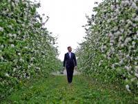 Duda u sadowników cytuje Witosa i mówi o rolniczej biedzie. ZDJĘCIA