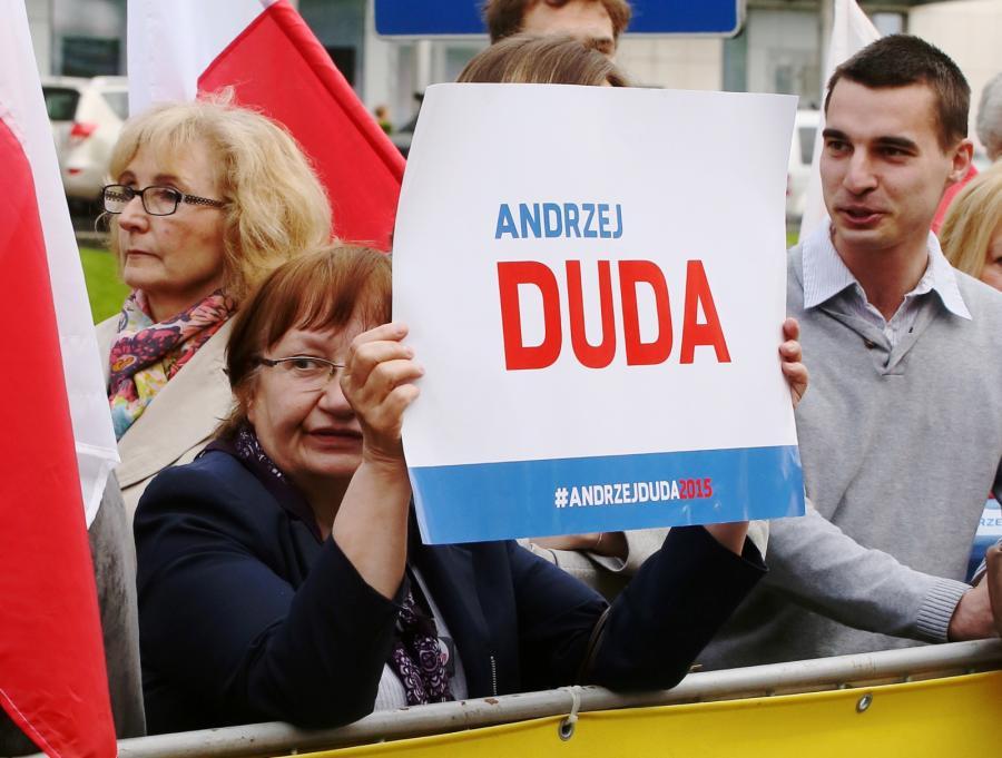 Sympatycy Andrzeja Dudy