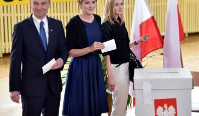 Andrzej Duda; Agata Kornhauser-Duda; Kinga Duda
