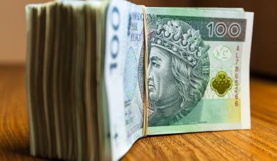 Pieniądze, banknoty stuzłotowe