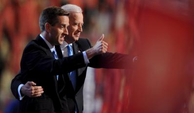 Joe Biden z synem