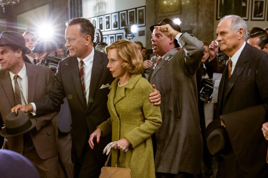 Tom Hanks na moście szpiegów