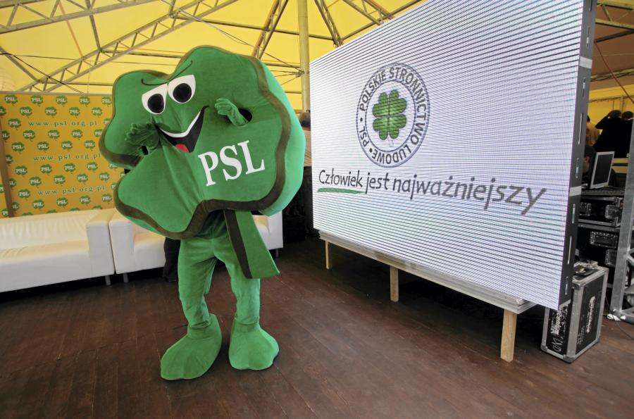Wyborcza maskotka PSL