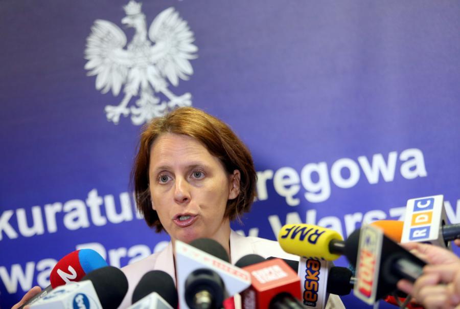 Rzeczniczka Prokuratury Okręgowej Warszawa-Praga Renata Mazur