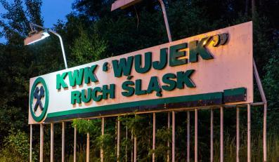 Teren Kopalni Węgla Kamiennego Wujek w Rudzie Śląskiej