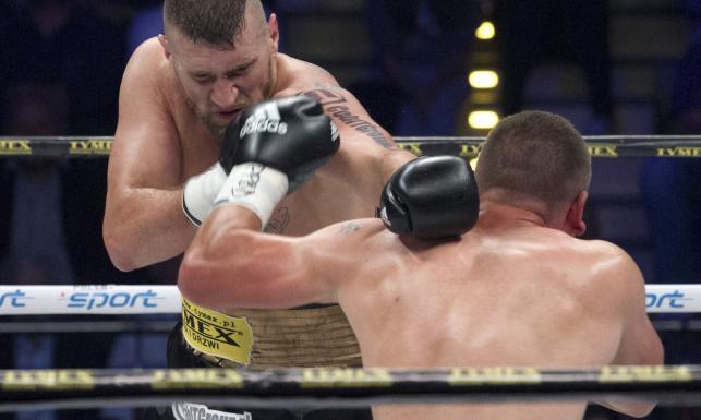 Mariusz Wach pokonał przed czasem Konstantina Airicha. ZDJĘCIA