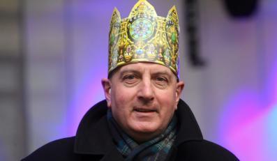 Prezydent Wrocławia RAFAŁ DUTKIEWICZ w Orszaku Trzech Króli