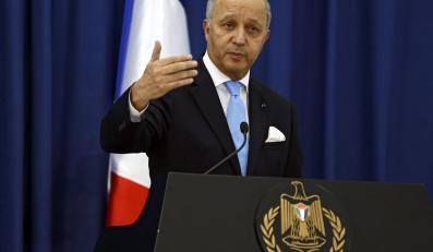 Minister spraw zagranicznych Francji Laurent Fabius