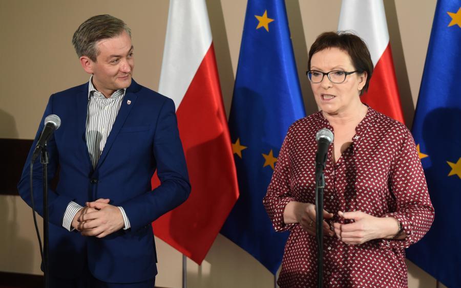 Ewa Kopacz i Robert Biedroń