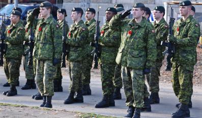 Kanadyjscy żołnierze
