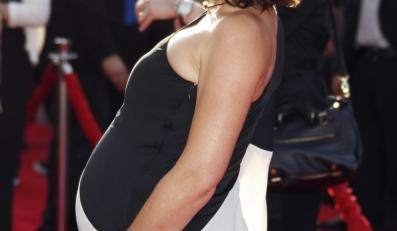 """Evangeline Lilly w świetnej formie na premierze filmu """"Ant-Man"""""""