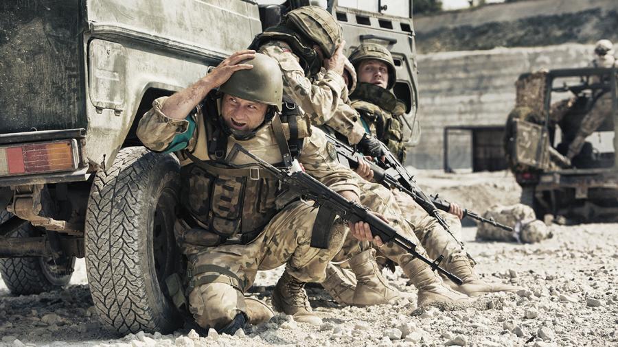 Karbala – polscy żołnierze nad Eufratem