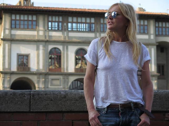 Monika Olejnik, zdęcie z oficjalnego profilu na Facebooku