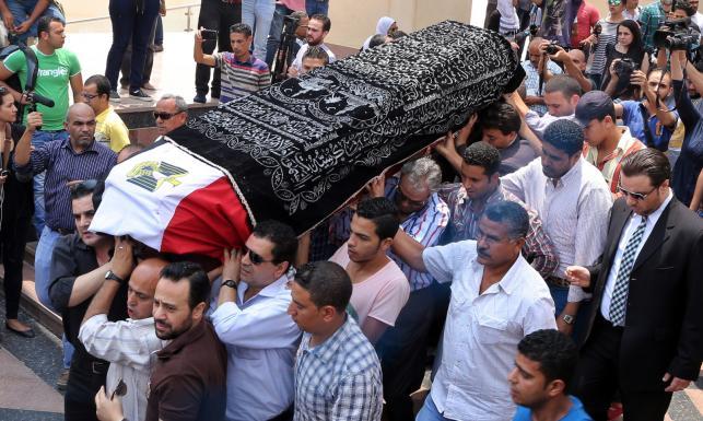 Pogrzeb Omara Sharifa. Tak Egipt żegnał ukochanego aktora [ZDJĘCIA]