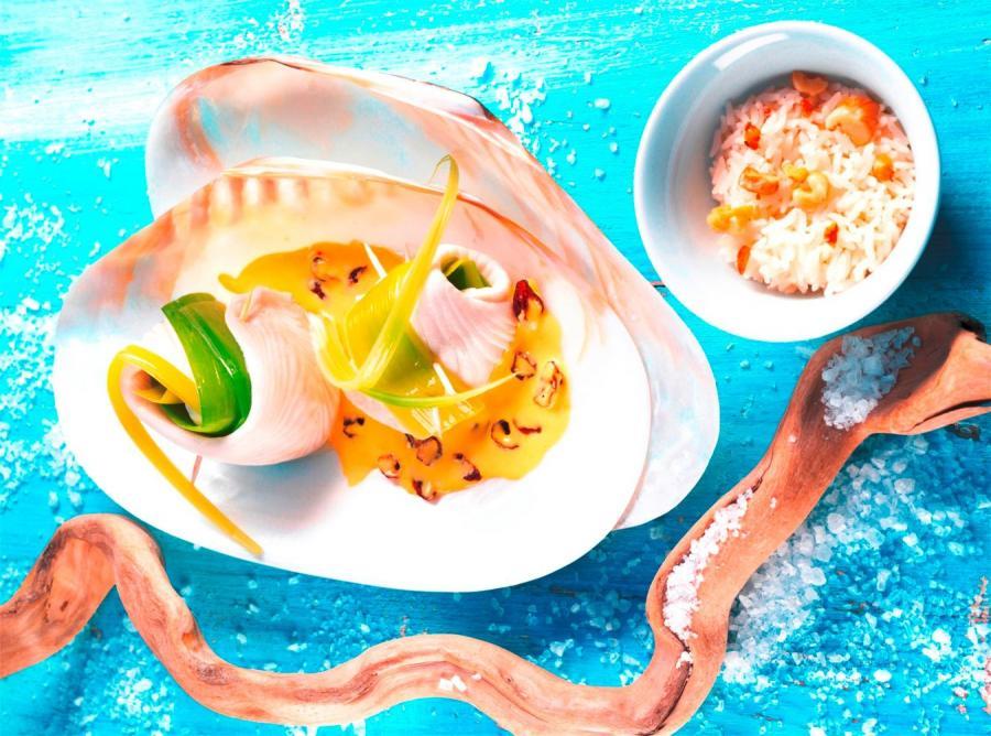 Weselne menu z żurawiną amerykańską