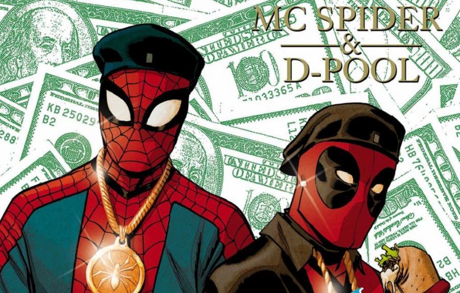 Spider-Man i Deadpool jako Eric B. i Rakim
