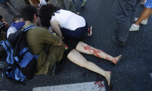 Wyszedł z więzienia, by zrobić to samo. Atak nożownika na paradzie gejów w Jerozolimie