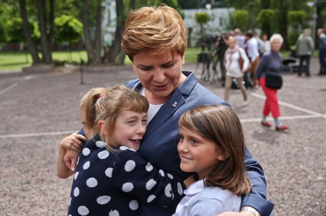 Beata Szydło w Muzeum Powstania Warszawskiego