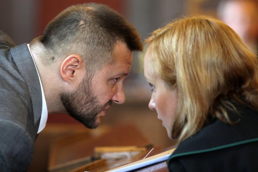 Ryszard Bogucki w sądzie