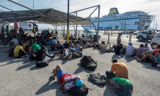 Tysiące imigrantów na wyspie Kos. Grecja pomoże uchodźcom z Syrii