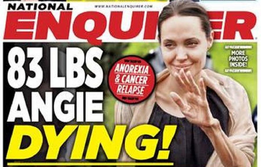 Angelina Jolie na okładce \