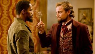 """Jamie Foxx i Leonardo DiCaprio w """"Django Unchained"""""""