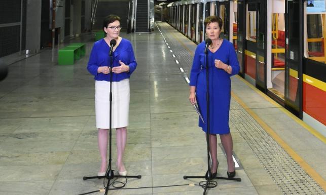 Damy w chabrze... Ewa Kopacz wypadła blado przy prezydent Warszawy