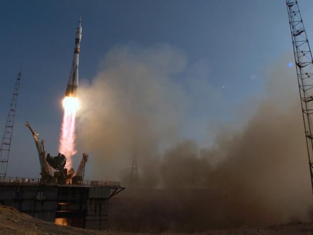 Start TMA-4 z Kosmodromu w Kazachstanie