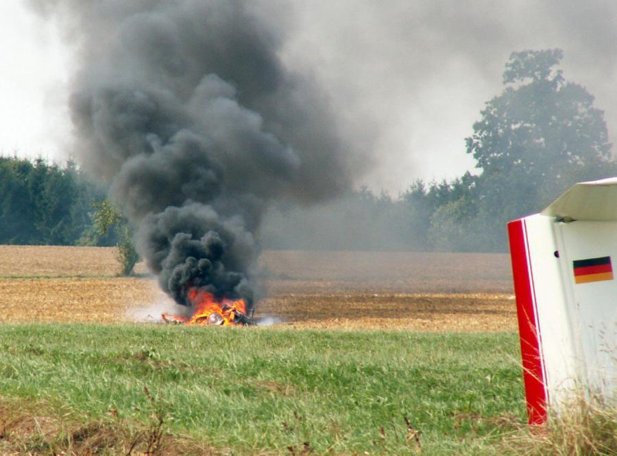 Czworo zabitych w powietrznym wypadku