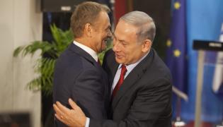 Donald Tusk i Benjamin Netanjahu