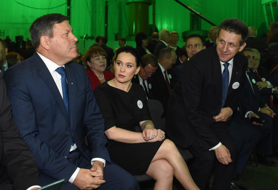 Janusz Piechociński i Andżelika Możdżanowska