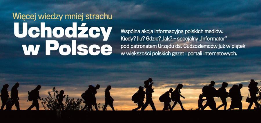 Uchodźcy w Polsce: Więcej wiedzy - mniej strachu