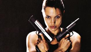 Angelina Jolie jako Lara Croft