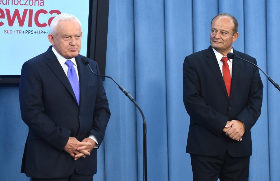 Leszek Miller i lider chełmskiej listy Zjednoczonej Lewicy, Riad Haidar