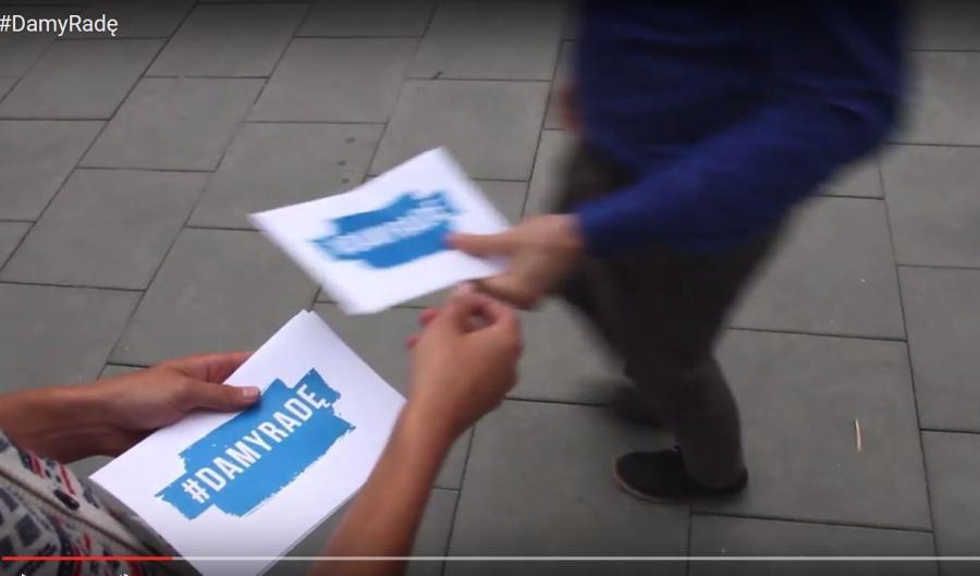 Kadr z najnowszego spotu PiS-u