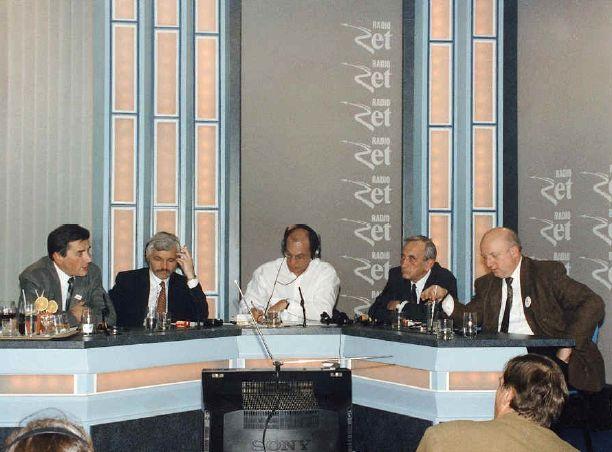1993 rok. Debata przedwyborcza w Radiu Zet