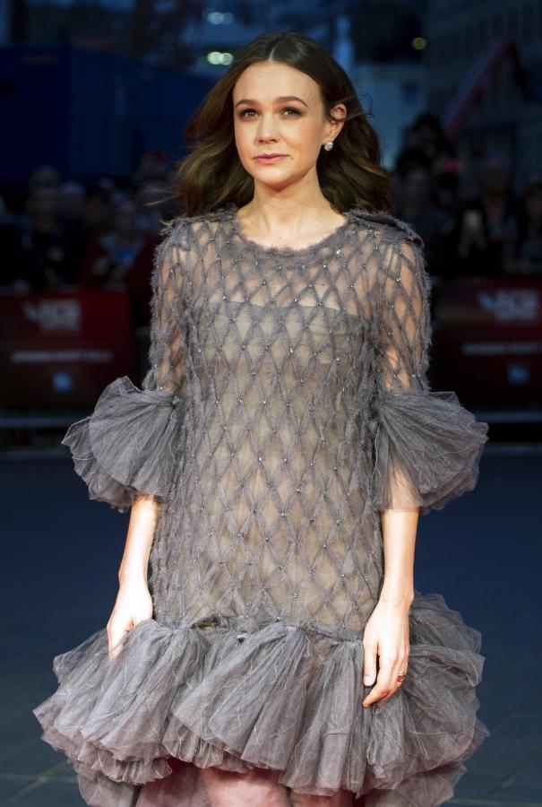 """Carey Mulligan na premierze """"Sufrażystki"""" w Londynie"""