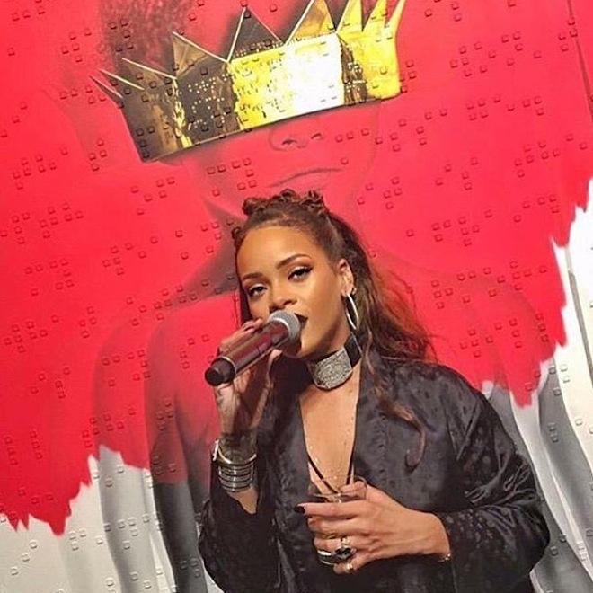 Rihanna zaprezentowała okładkęnowego albumu