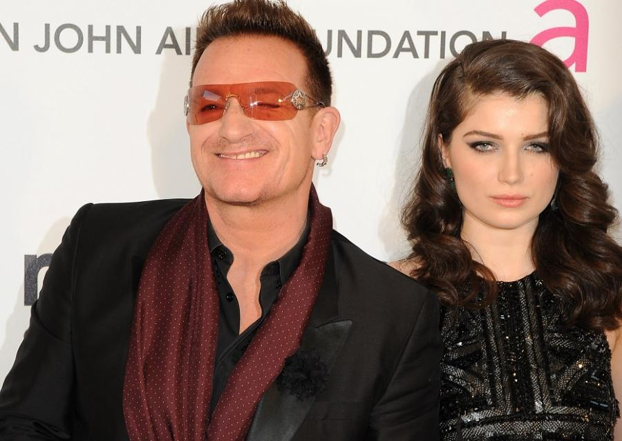 Eve Hewson i jej dumny tata Bono