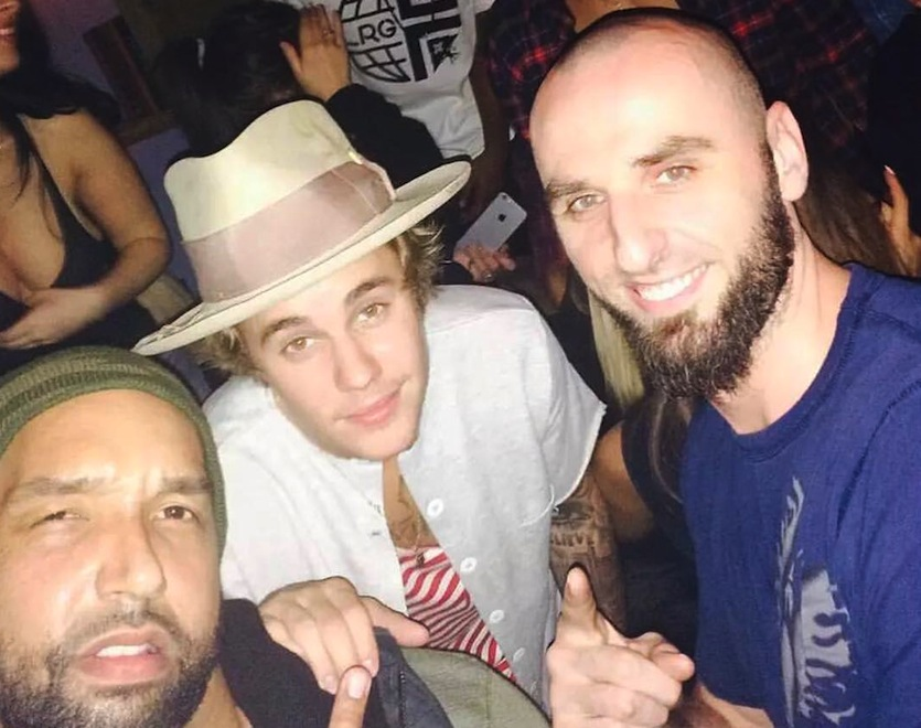 Justin Bieber i Marcin Gortat na wspólnej imprezie