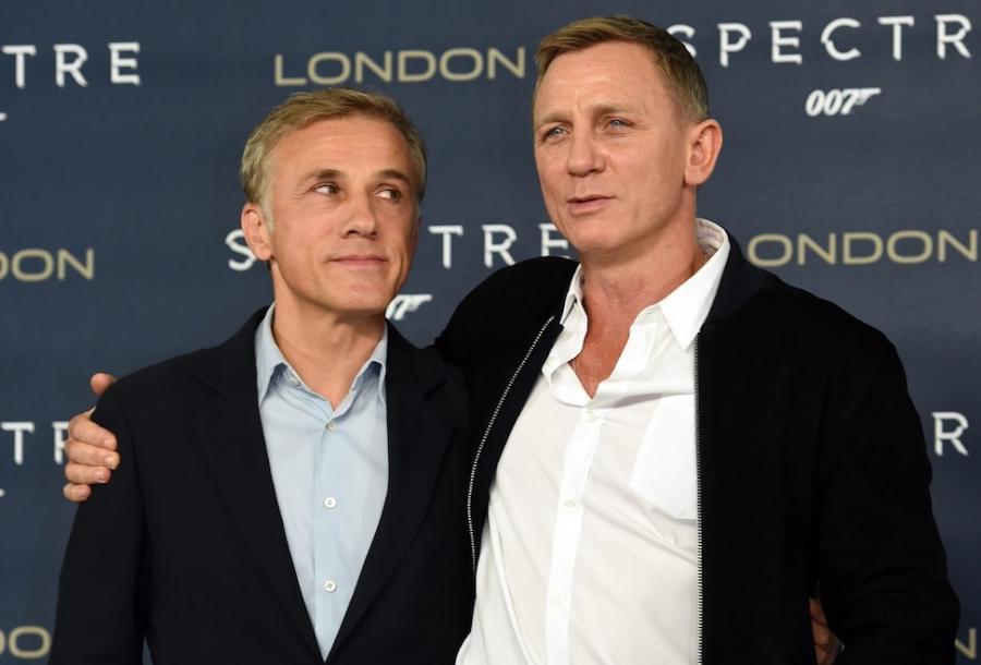 Christoph Waltz i Daniel Craig w Londynie spotkali się z dziennikarzami