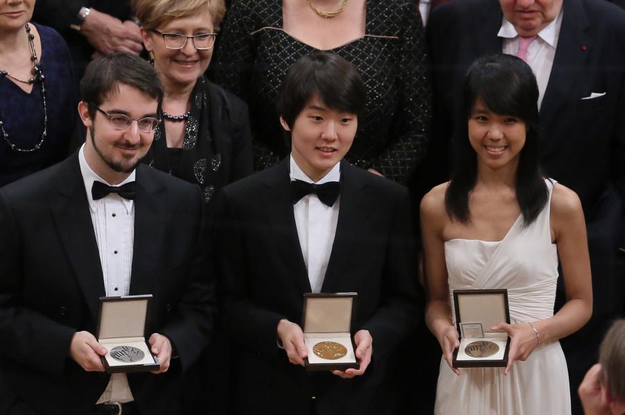 Laureaci I, II i III nagrody: Seong-Jin Cho, Charles Richard-Hamelin i Kate Liu