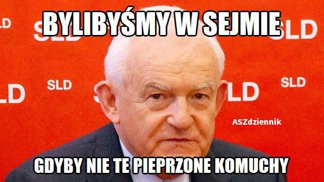 Leszek Miller - mem / ASZdziennik