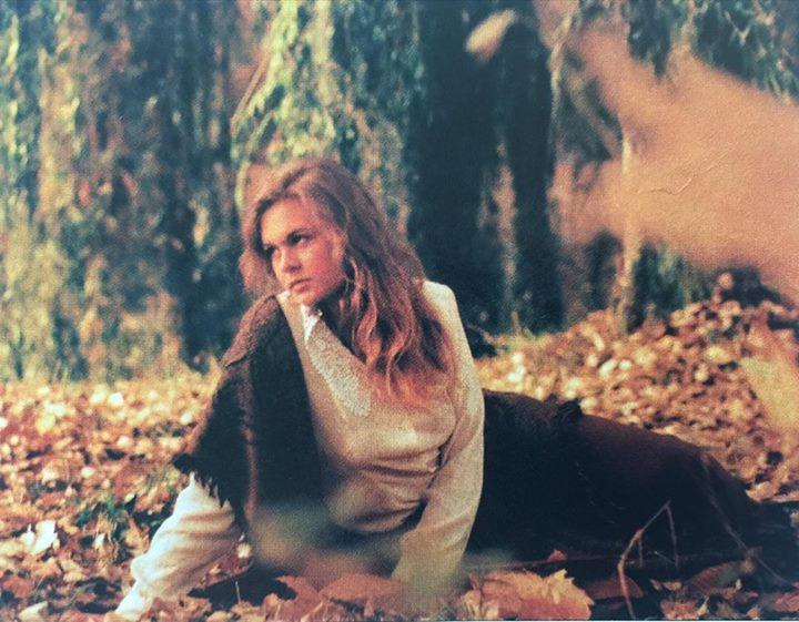 Barbara Nowacka w roli modelki