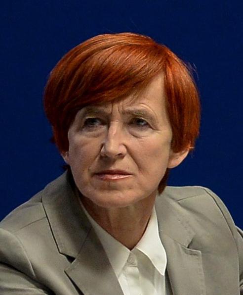 Elżbieta Rafalska - minister pracy i polityki społecznej