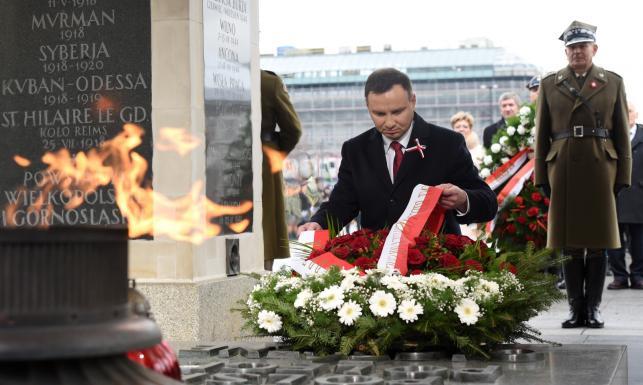 Prezydent chce odbudowy silnego państwa i wspomina Jana Pawła II